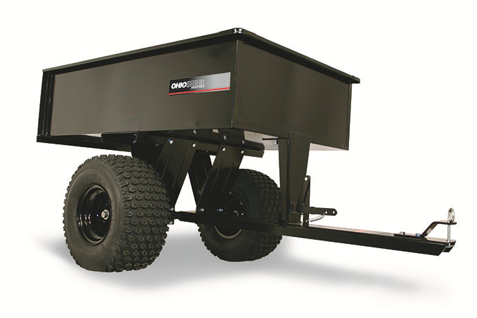 3048HATV | Ohio Steel 12 cu ft Welded Steel ATV Dump Cart