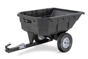 1000P-SD | Ohio Steel 15 cu ft Poly Swivel Dump Cart
