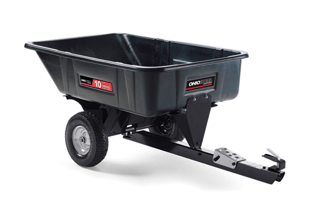 3040P-SD | Ohio Steel 10 cu ft Poly Swivel Dump Cart