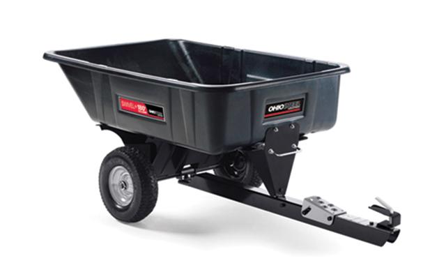 3040P-SD180 | Ohio Steel 10 cu ft Poly Swivel 180 Dump Cart