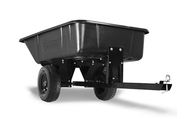 3040P | Ohio Steel 10 cu ft Poly Dump Cart
