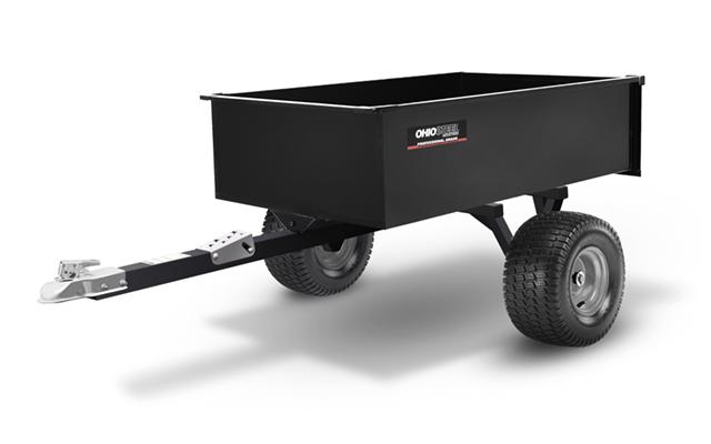 3048SD-ATV | Ohio Steel 12 cu ft Welded Steel Swivel ATV Dump Cart