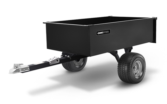 3460SD-ATV | Ohio Steel 20 cu ft Welded Steel Swivel ATV Dump Cart