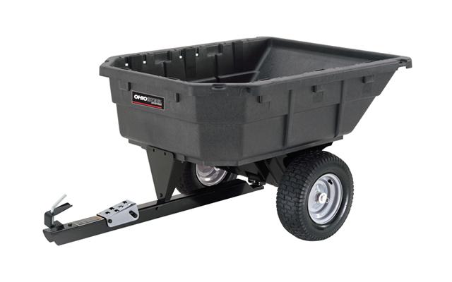 4048P-SD | Ohio Steel 15 cu ft Poly Swivel Dump Cart
