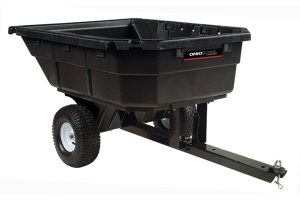 4048P | Ohio Steel 15 cu ft Poly Dump Cart