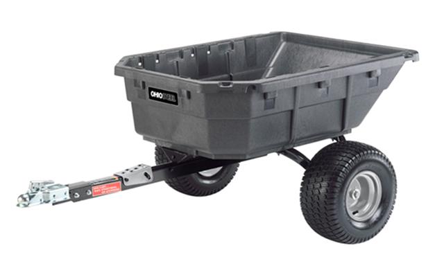 4048PS-ATV | Ohio Steel 15 cu ft Poly Swivel ATV Dump Cart