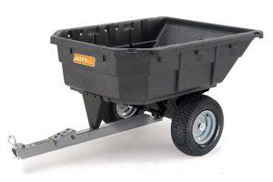 AF-1000PS | AllFitHD 12.5 cu ft Poly Swivel Dump Cart
