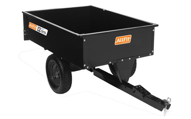 AF-1000SS | AllFitHD 12 cu ft Steel Swivel Dump Cart