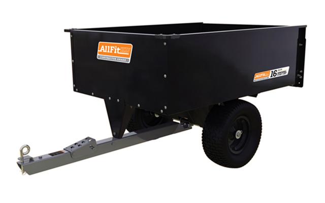 AF-1250SS | AllFitHD 16 cu ft Steel Swivel Dump Cart