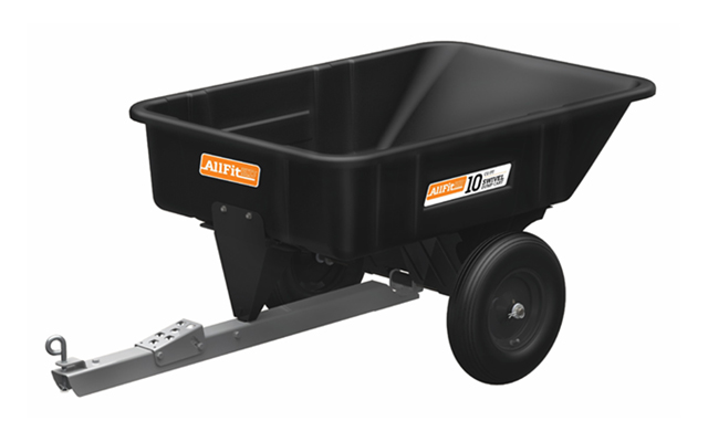 AF-800PS | AllFitHD 10 cu ft Poly Swivel Dump Cart