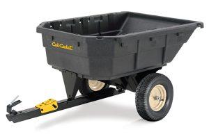 CC-1000PS | Cub Cadet 15 cu ft Poly Swivel Dump Cart