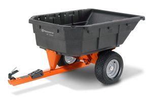 HQ-1000PS | Husqvarna 12.5 cu ft Poly Swivel Dump Cart