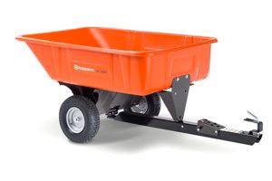 HQ-3040PS | Husqvarna 10 cu ft Poly Swivel Dump Cart