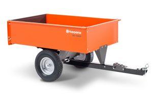 HQ-3048SS | Husqvarna 12 cu ft Steel Swivel Dump Cart