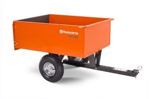 HQ-350S | Husqvarna 9 cu ft Steel Dump Cart