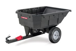 TB-1000PS | Troy-Bilt 15 cu ft Poly Swivel Dump Cart