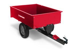 TB-3048SS | Troy-Bilt 12 cu ft Steel Swivel Dump Cart