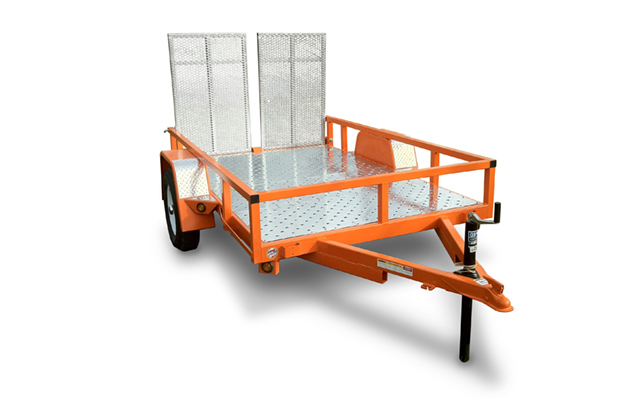 UTL5008HDR | The Home Depot Tool Rental 5 ft x 8 ft Utility Trailer