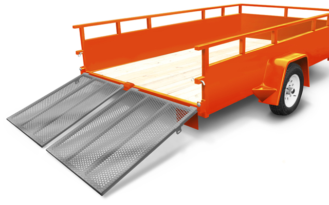 UTL5008HDS | The Home Depot Tool Rental 5 ft x 8 ft Sided Utility Trailer
