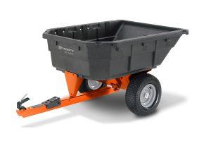 DC 1000P (584 40 19-01) | Husqvarna 12.5 cu ft Poly Swivel Dump Cart