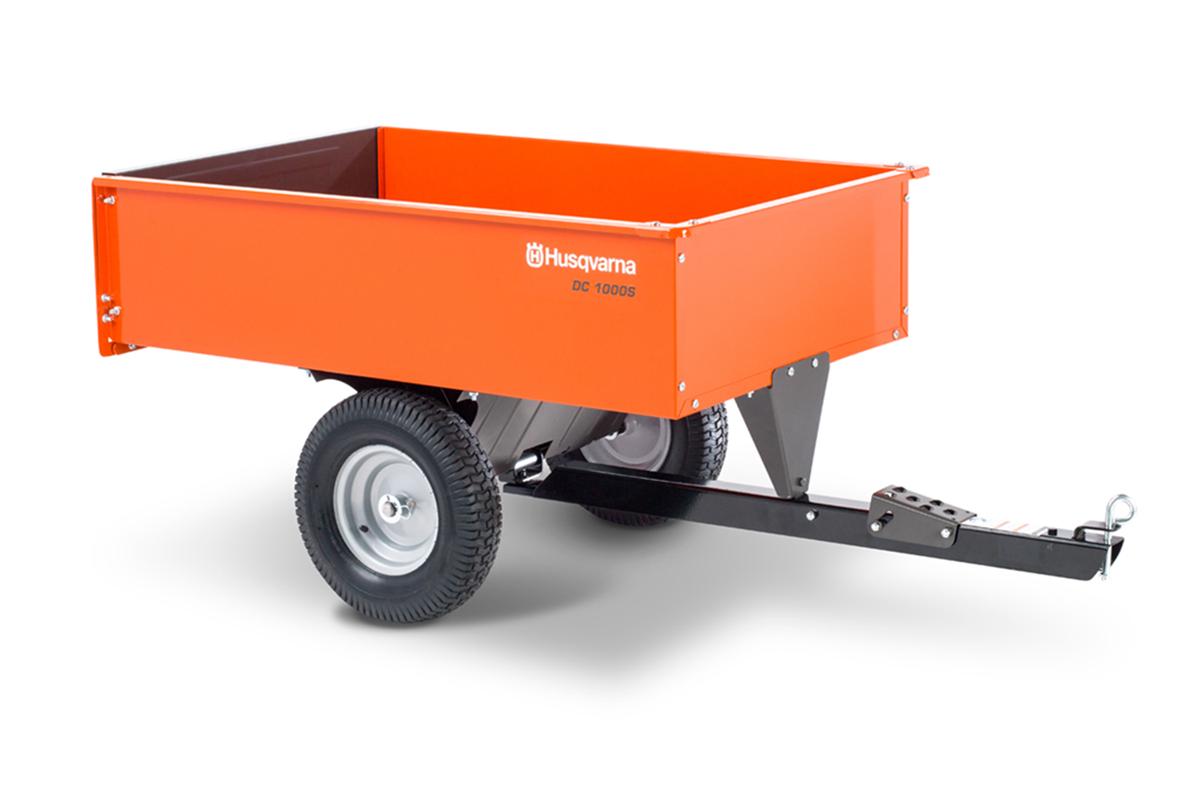 DC 1000S (588 20 88-04)   Husqvarna 12 cu ft Steel Swivel Dump Cart